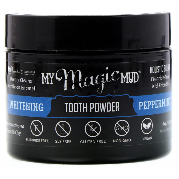 Whitening Tooth Powder, Peppermint, 1.06 oz (30 g)