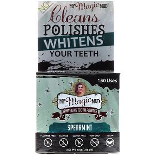 My Magic Mud, Whitening Tooth Powder, Spearmint, 1.06 oz (30 g)