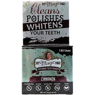 My Magic Mud, Whitening Tooth Powder, Cinnamon, 1.06 oz (30 g)