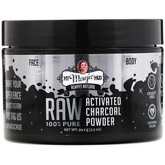My Magic Mud, Raw 全 Pure, Activated Charcoal Powder, 3.5 oz (99.2 g)