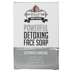 My Magic Mud, 高效清體洗臉皂,活性炭,3.75 盎司(106.3 克)