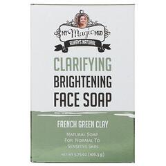 My Magic Mud, 淨化增白洗面皂,法國綠泥,3.75 盎司(106.3 克)