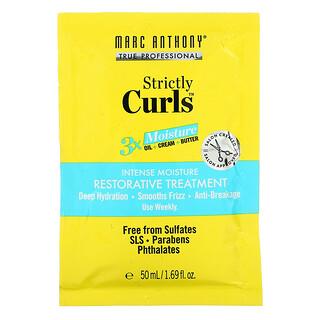 Marc Anthony, 嚴格卷髮,優效保濕修復護髮素,1.69 盎司(50 毫升)