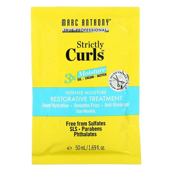Strictly Curls, Intense Moisture Restorative Treatment, 1.69 fl oz (50 ml)