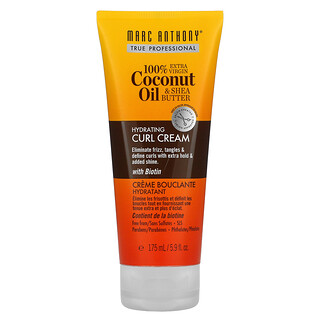 Marc Anthony, 100% Extra Virgin Coconut Oil & Shea Butter, Curl Cream, 5.9 fl oz (175 ml)