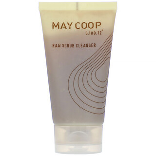 May Coop, Raw Scrub Cleanser, 110 ml