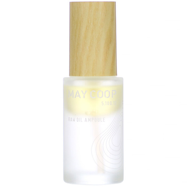 May Coop, Raw Oil Ampoule, 30 ml