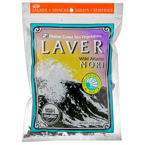 Мэйн Коаст Си Веджитаблс, Laver, Wild Atlantic Nori, 1 oz (28 g) отзывы покупателей