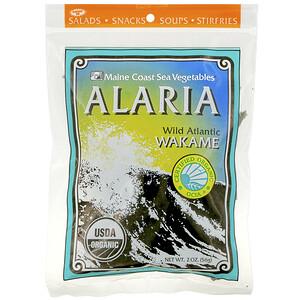 Мэйн Коаст Си Веджитаблс, Alaria, Wild Atlantic Wakame, 2 oz (56 g) отзывы
