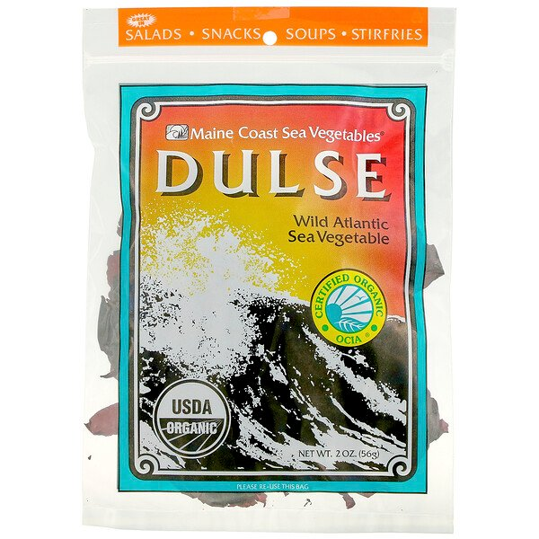 Dulse, Wild Atlantic Sea Vegetable, 2 oz (56 g)
