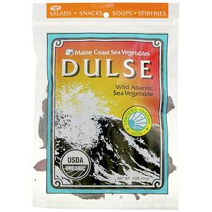 Мэйн Коаст Си Веджитаблс, Dulse, Wild Atlantic Sea Vegetable, 2 oz (56 g) отзывы