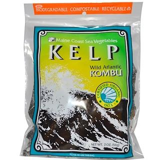 Maine Coast Sea Vegetables, Kelp, Wild Atlantic Kombu, 2 oz (56 g)