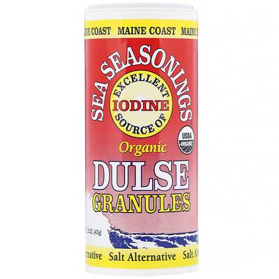 Maine Coast Sea Vegetables Sea Seasonings, органические гранулы с красными водорослями, 43г (1, 5 унции)  - купить со скидкой