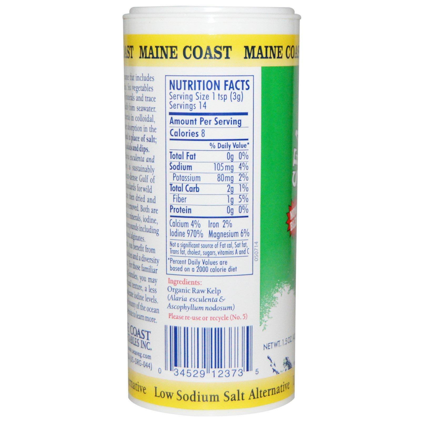 Maine Coast Sea Vegetables, Organic