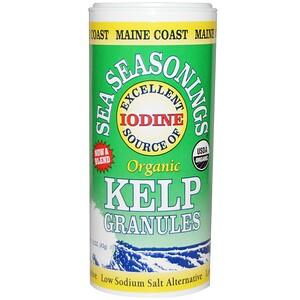 Мэйн Коаст Си Веджитаблс, Organic, Sea Seasonings, Kelp Granules, 1.5 oz (43 g) отзывы