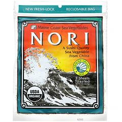 Maine Coast Sea Vegetables, Nori, 7 Sheets, 0.6 oz (17 g)