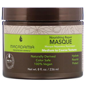 Macadamia Professional, Nourishing Repair Masque, Medium to Coarse Textures,  8 fl oz (236 ml) отзывы