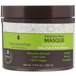 Macadamia Professional, Weightless Repair Masque, Baby Fine to Fine Textures,  7.5 fl oz (222 ml)