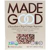 MadeGood, Crispy Squares, Chocolate Chip, 6 Bars, 0.78 oz (22 g) Each