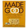 MadeGood, Crispy Squares, Caramel, 6 Bars, 0.78 oz (22 g) Each