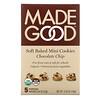 MadeGood, Soft Baked Mini Cookies, Chocolate Chip, 5 Portion Packs, 4.25 oz (120 g)