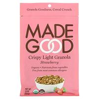 MadeGood, Crispy Light Granola, Strawberry, 10 oz (284 g)