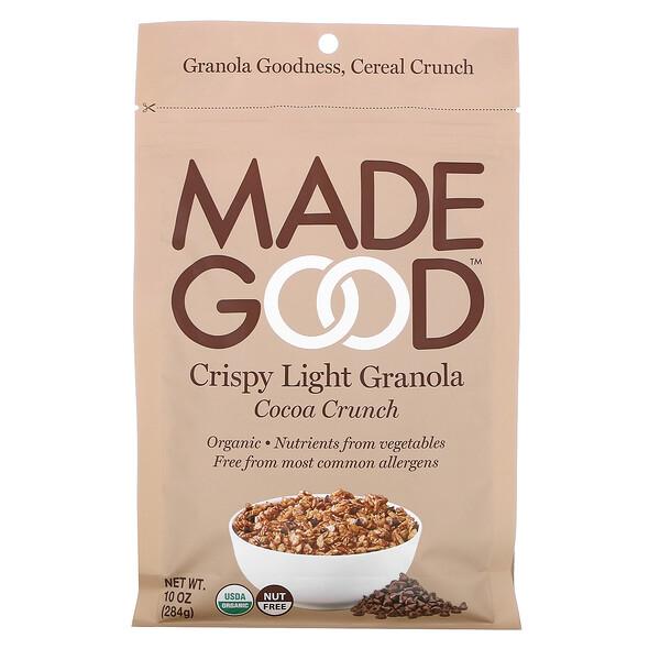 Crispy Light Granola , Cocoa Crunch, 10 oz (284 g)
