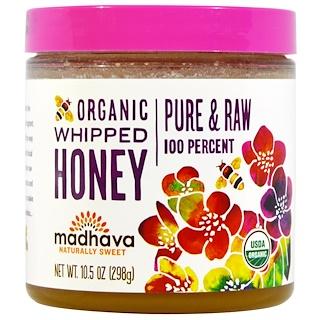 Madhava Natural Sweeteners, Organic Whipped Honey, 10.5 oz (298 g)