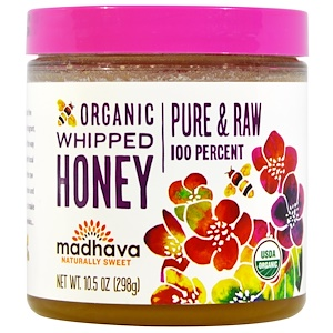 Мэдхауа Нэчурал Суитнэрс, Organic Whipped Honey, 10.5 oz (298 g) отзывы