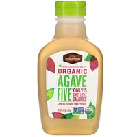 Madhava Natural Sweeteners, Organic Agave Five, Low-Glycemic Sweetener, 16 oz (454 g)