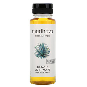Мэдхауа Нэчурал Суитнэрс, Organic Golden Light 100% Blue Agave, 11.75 oz (333 g) отзывы покупателей