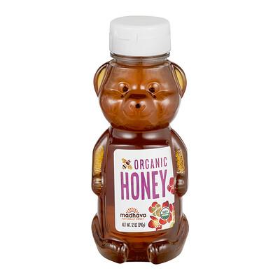 Купить Madhava Natural Sweeteners Органический мед Медведь, 12 унций (340 г)