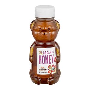 Madhava Natural Sweeteners, Organic Honey Bear, 12 oz (340 g)