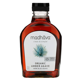 Madhava Natural Sweeteners, 有機琥珀生藍色龍舌蘭,23.5 盎司(667 克)