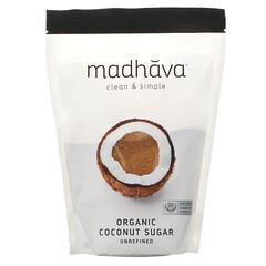 Madhava Natural Sweeteners, 有機椰糖,未精製,1 磅(454 克)
