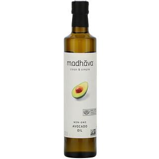 Madhava Natural Sweeteners, 乾淨簡單,鱷梨油,16.9 盎司(500 毫升)