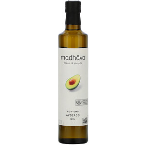 Madhava Natural Sweeteners, Clean & Simple,  Avocado Oil, 16.9 fl oz (500 ml)