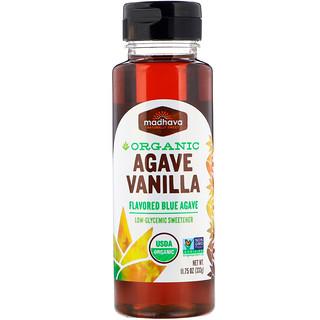 Madhava Natural Sweeteners, Organic Agave, Vanilla, 11.75 oz (333 g)
