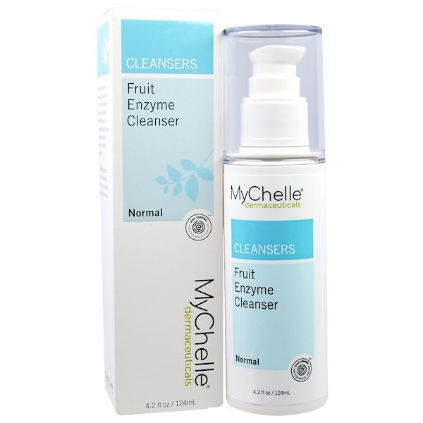 MyChelle Dermaceuticals, Fruit Enzyme Cleanser, Normal, 4.2 fl oz (124 ml) (Discontinued Item)