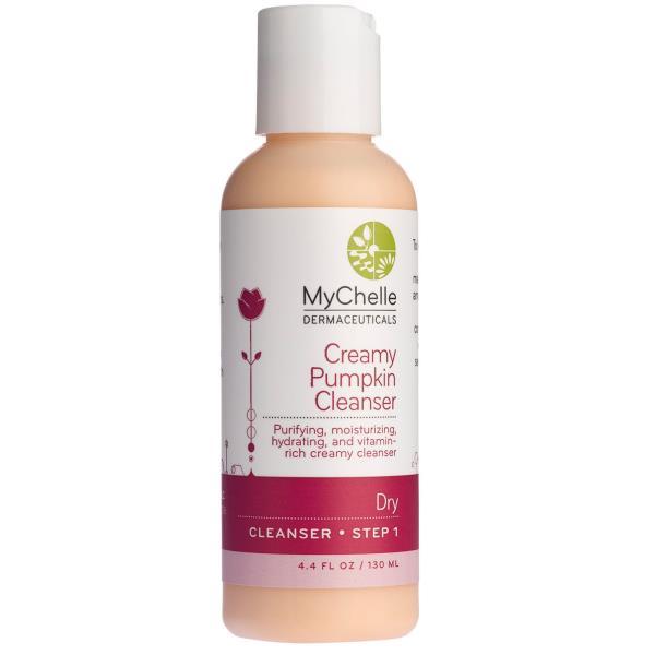 MyChelle Dermaceuticals, Creamy Pumpkin Cleanser, Dry, Step 1, 4.4 fl oz (130 ml)