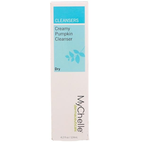 MyChelle Dermaceuticals, Creamy Pumpkin Cleanser, Dry, 4.2 fl oz (124 ml) (Discontinued Item)