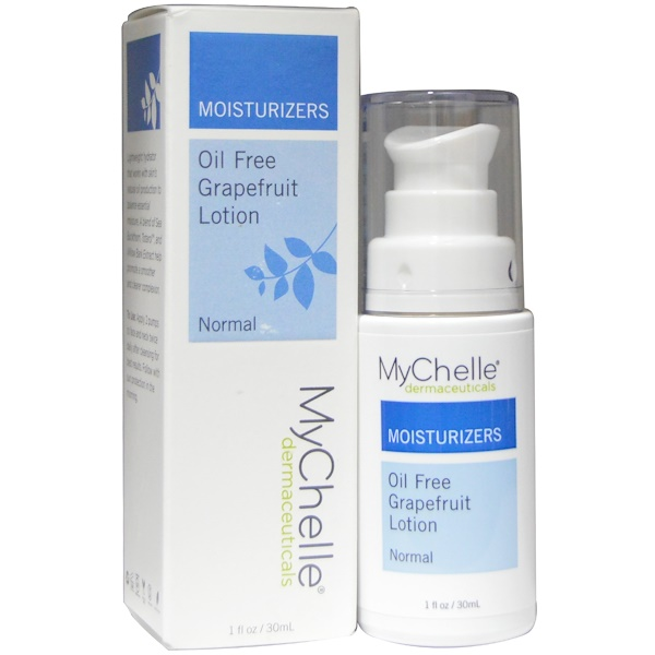 MyChelle Dermaceuticals, Oil Free Grapefruit Lotion, Normal, 1 fl oz (30 ml)
