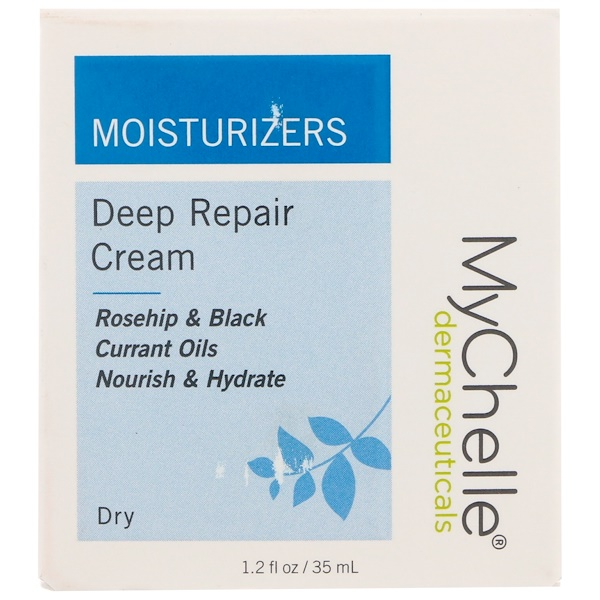 MyChelle Dermaceuticals, Deep Repair Cream, 1.2 fl oz (35 ml) (Discontinued Item)
