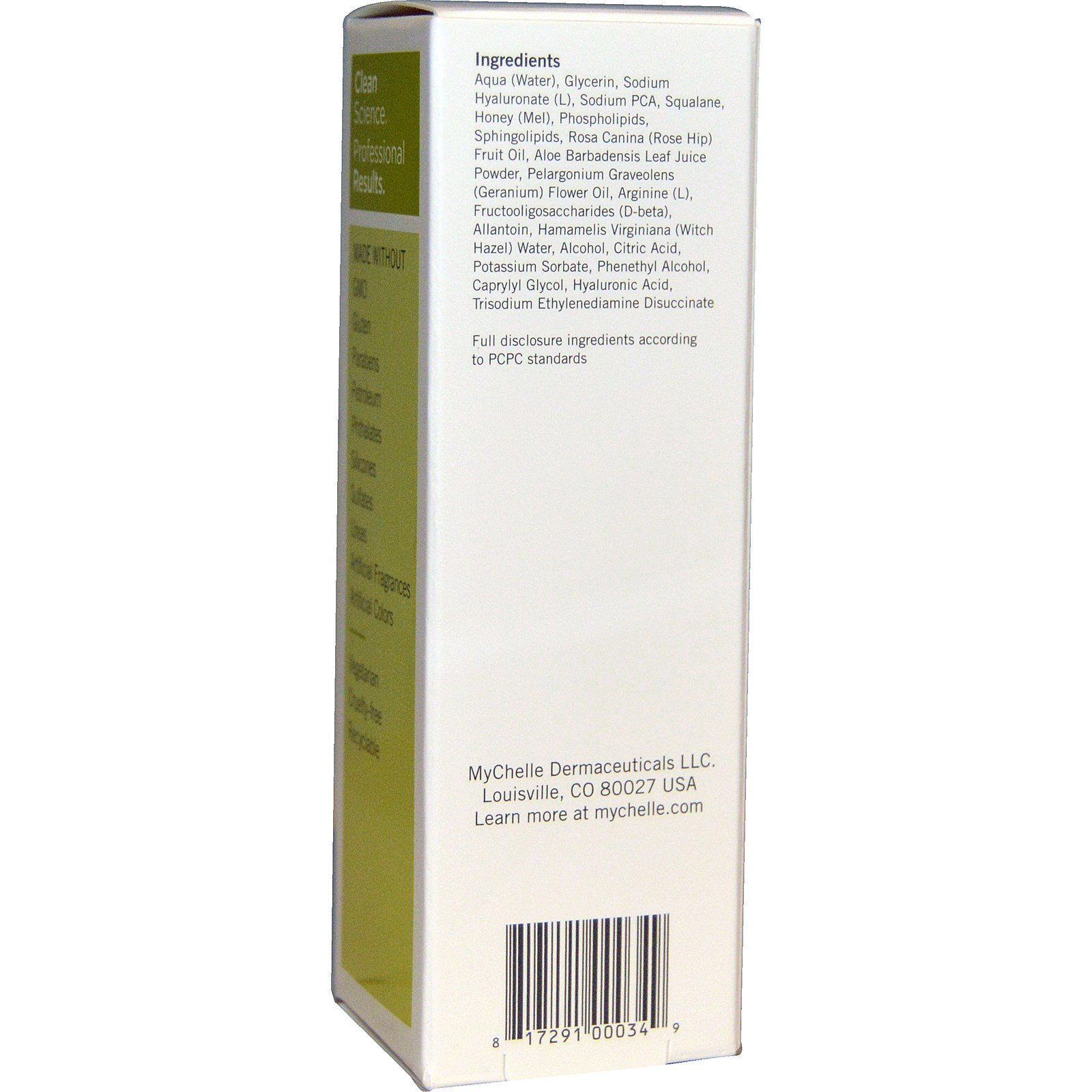 2ded1a58461 MyChelle Dermaceuticals, Ultra Hyaluronic Hydrating Serum, Dry, Step ...