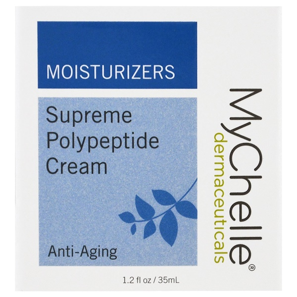 MyChelle Dermaceuticals, Supreme Polypeptide Cream, Anti-Aging, 1.2 fl oz (35 ml) (Discontinued Item)