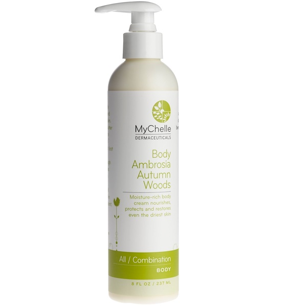 MyChelle Dermaceuticals, Body Ambrosia Autumn Woods, All/Combination, Body Care, 8 fl oz (237ml) (Discontinued Item)