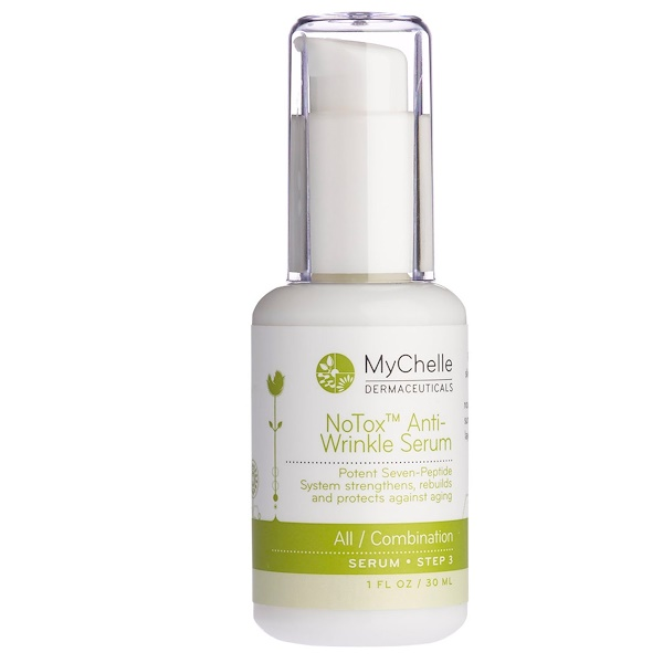 MyChelle Dermaceuticals, NoTox Anti-Wrinkle Serum, All / Combination, 1 fl oz (30 ml) (Discontinued Item)