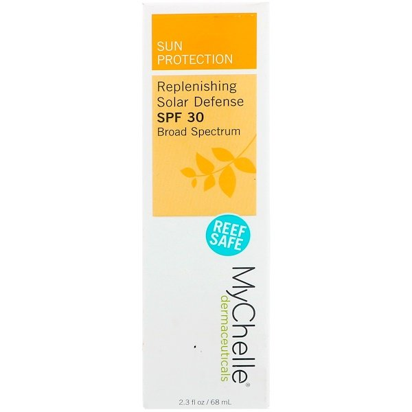 MyChelle Dermaceuticals, Replenishing Solar Defense, SPF 30 Broad Spectrum, 2.3 fl oz (68 ml) (Discontinued Item)