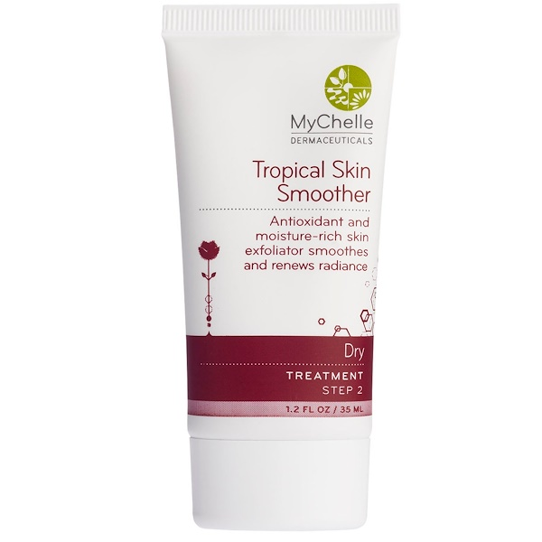 MyChelle Dermaceuticals, Tropical Skin Smoother, Dry, Treatment, Step 2, 1.2 fl oz (35 ml) (Discontinued Item)