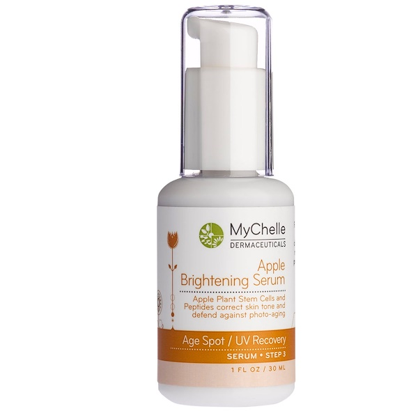 MyChelle Dermaceuticals, Apple Brightening Serum, 1 fl oz (30 ml) (Discontinued Item)